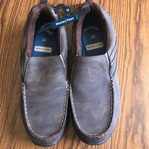 Faded Glory Shoes - NWT Faded Glory Men's Memory Foam Slip On Shoes